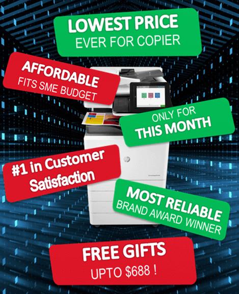 Lease copier, printer rental, buy copier, copier rental singapore promotion.